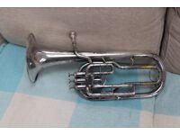 Silver Tenor Horn