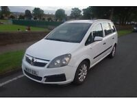 2007 Vauxhall Zafira 1.9 CDTI, Diesel, SPARES OR REPAIRS, SUSPECTED TURBO FAULT, HPI CLEAR