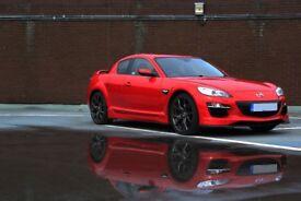 Mazda RX8 R3 231bhp red 12months mot 60k mileage