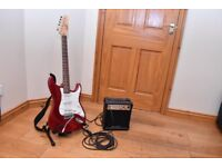 Encore Electric Guitar and Amp kit
