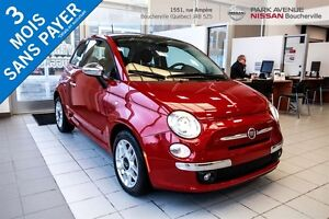 2012 Fiat 500 Lounge ** Cuir ** Radio Bose ** Nouvel Arrivage **