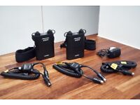 2 x Godox Black Propac PB960 kits + 2 x DB-02 Y Adapters + 2 Cx + 2 x Nx Cables