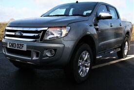 2013 Ford Ranger Limited Manual No Vat