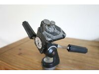 Manfrotto 058 Tripod with 2 X Manfrotto 029 three way heads and 1x Hex plate, well used but in GWO