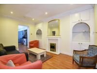 Redcliffe Square SW10. Large spacious three double bedroom property to rent.