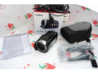 Canon LEGRIA HF R47 FULL HD camcorder LIKE NEW, IN ORIGINAL PACKAGING + Bag + cables + CD + manual