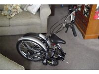 Challenge Flex Folding Bike Never Used Must be Seen REDUCED