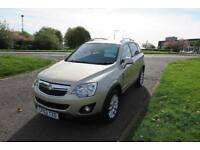 VAUXHALL ANTARA 2.2 EXCLUSIV CDTI 4WD ,2013,Auto,Half Leather,Cruise,Air Con,Privacy,Full History