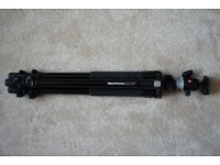 Manfrotto tripod 055XPROB and 496RC2 head with carry case excellent condition