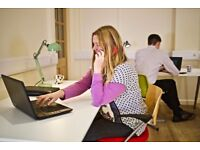 Co-working desk in shared office, rural location (RG18) near Newbury, Thatcham, Theale & Pangbourne
