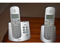 Phillips Duo cordless phones