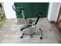 Exercise bicycle with full monitoring