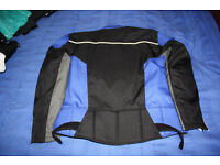 motorcycle armoured jacket xxl