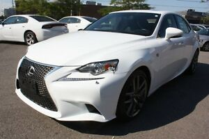 2014 Lexus IS 350 F-SPORT WITH NAVIGATION