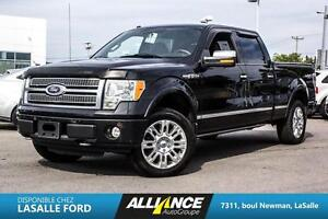 2010 Ford F150 Platinum Crew Cab 4x4 with NAVIGATION