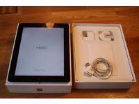 Apple iPad 3rd Generation 32GB, Wi-Fi + Cellular (unlocked), 9.7in size - black