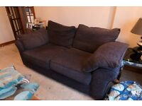 Next 2 x two seater sofa's for sale as new , pet free , smoke free home ,