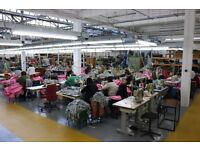 Sewing Machinist, Seamstress & Tailors required - Starting £7.50ph