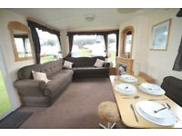 PERFECT STATIC CARAVAN FOR 1ST TIME BUYER ON 12 MONTH SEASON WITH DIRECT BEACH ACCESS