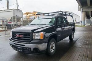2013 GMC Sierra 1500 Ladder Rack and Locking Tool Box !