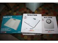 salter weighing scales 3 different designs
