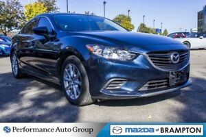 2016 Mazda MAZDA6 GX. BLUETOOTH. HTD SEATS. ALLOYS. CRUISE CTRL