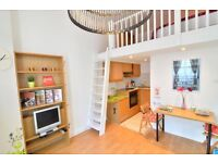 Beautiful Self-contained split level large studio apartment in West Kensington SHORT LET