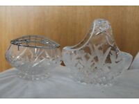 Crystal glass tableware