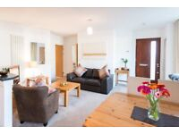 Beautifully present and furnished one bedroomed flat with own door and parking.