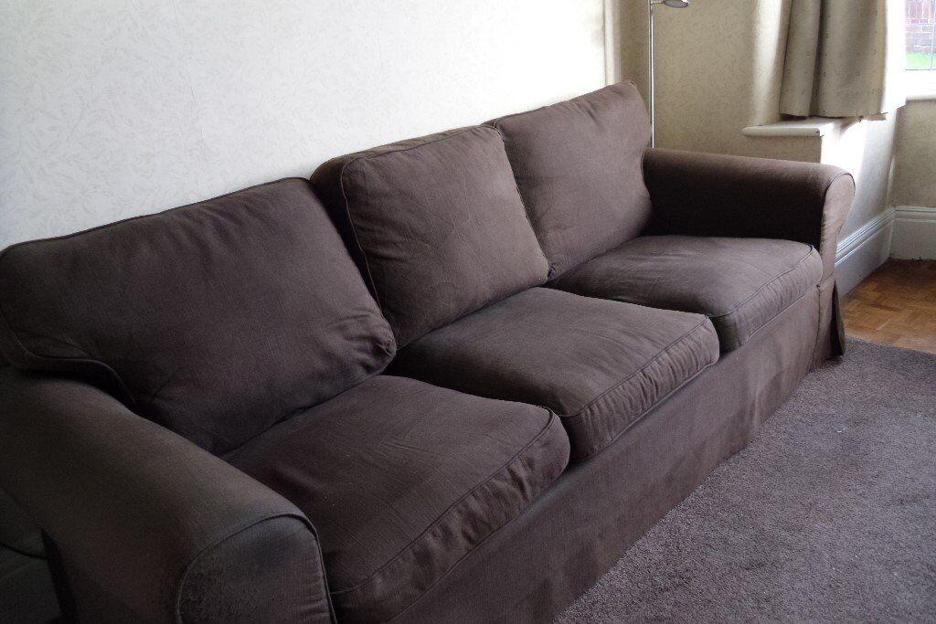 Ikea Ektrop 3 seat sofa