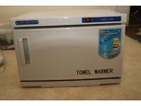 towel warmer cabinet for salon