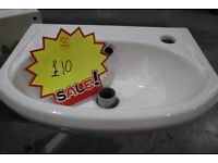 Basin ! ONLY £10 inc. vat! Small size! Only 3 basins left!