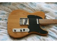 Fender Telecaster guitar Lite Ash, discontinued.