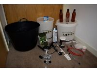complete homebrew kit (comes with Beer!!!)