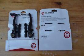 2 sets of NEW Clarks V-Brake Callipers RRP £24