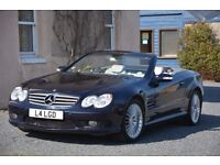 SL55 AMG Excellent condition FSH Dark Blue 51,000 miles 3 Previous Owners