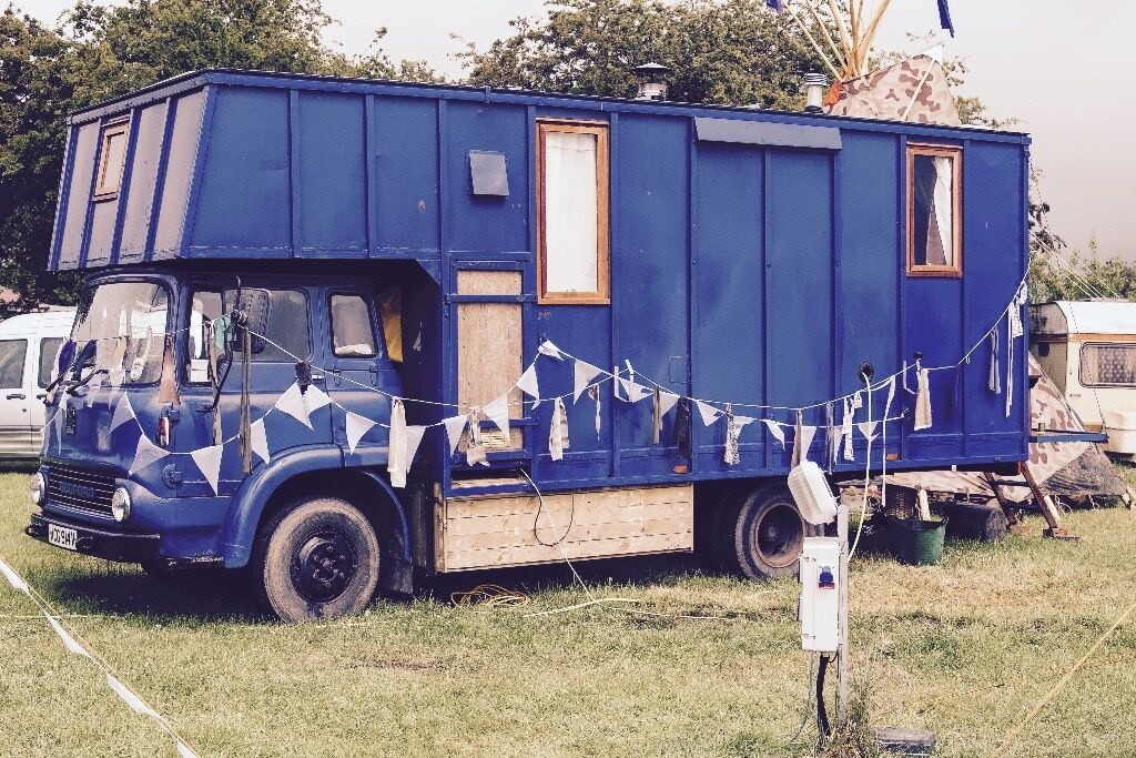 Beautiful Bedford TK Camper-Van Conversion
