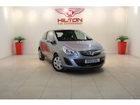 Vauxhall Corsa 1.2 i 16v Exclusiv 3dr (silver) 2012