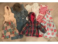 Bundle of girl's clothes 1.5-4yrs