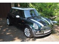 Mini Cooper 1.6l MOT, NEW GEARBOX, Full BMW Service History, Fantastic Condition Panoramic Roof