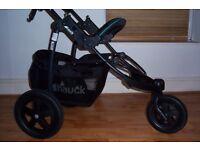 Hauck Viper Travel System. Car seat + Brand new Pram & Pushchair