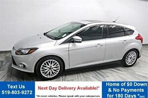 2014 Ford Focus Titanium LEATHER! NAVIGATION! SUNROOF! REAR CAME