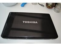 LAPTOP PC TOSHIBA 17 INCH L670D-102 FAULTY BUT WITH NEW LCD AND BATTERY FOR SPARES OR REPAIR