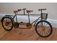 Vintage Ornamental Tandem Bicycle