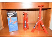 AXLE STANDS 2 TONNE LIFTING - SEALEY AS2000F