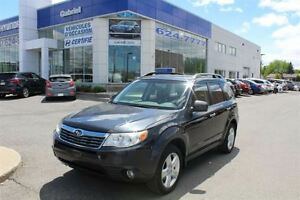 2010 Subaru Forester LIMITED, JAMAIS ACCIDENTÉ, CUIR