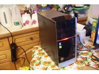 HP Envy i7 Quad Core Gaming PC, i7-4770 3.4GHz, 8GB RAM, 2TB, NVIDIA GT620, Windows 10