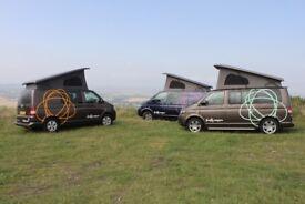 3x VW T5 Camper Vans For Sale
