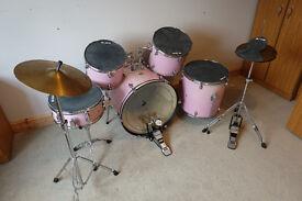 Tiger - Pink Drum Starter Kit