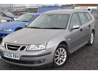 2006 SAAB 93 ESTATE 1.9 TID LINEAR SPORT - PARKING SENSORS 6 SPEED MANUAL ECONOMICAL ESTATE TOURER